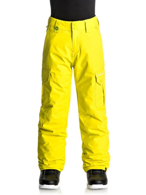 0 Porter - Snow Pants Green EQBTP03012 Quiksilver