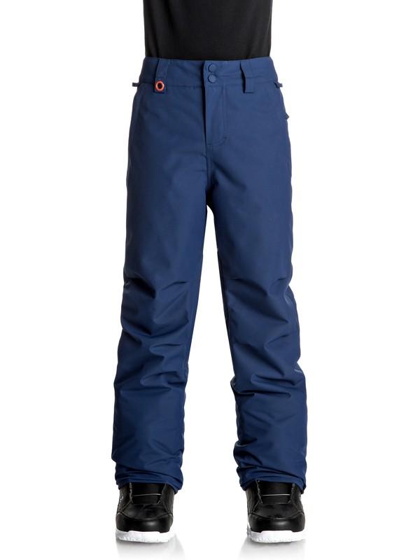 0 Estate - Pantalon de snow Bleu EQBTP03013 Quiksilver