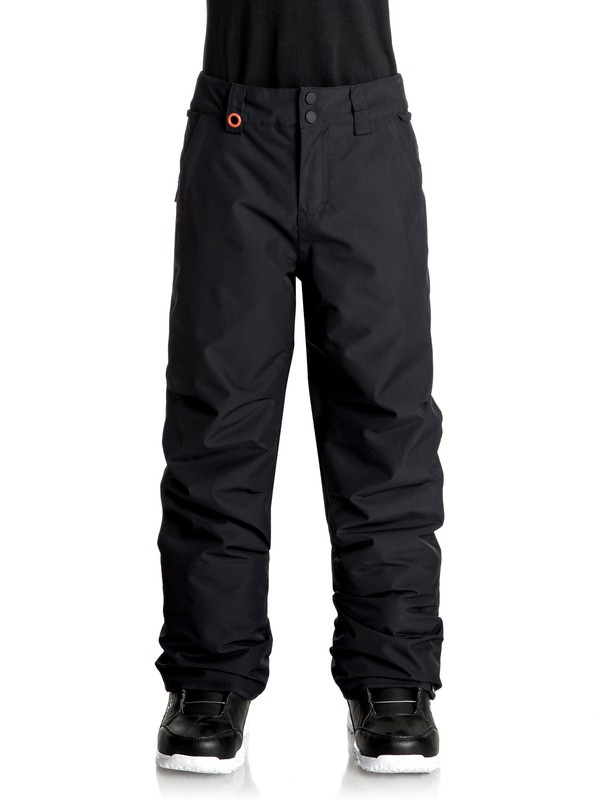 0 Boy's 8-16 Estate Snow Pants Black EQBTP03013 Quiksilver