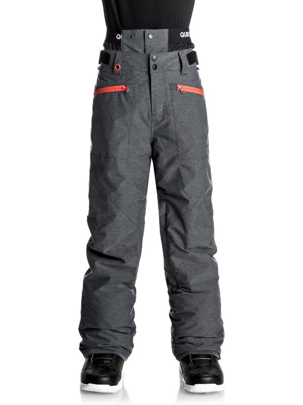 0 Boundry - Pantalon de snow Noir EQBTP03014 Quiksilver