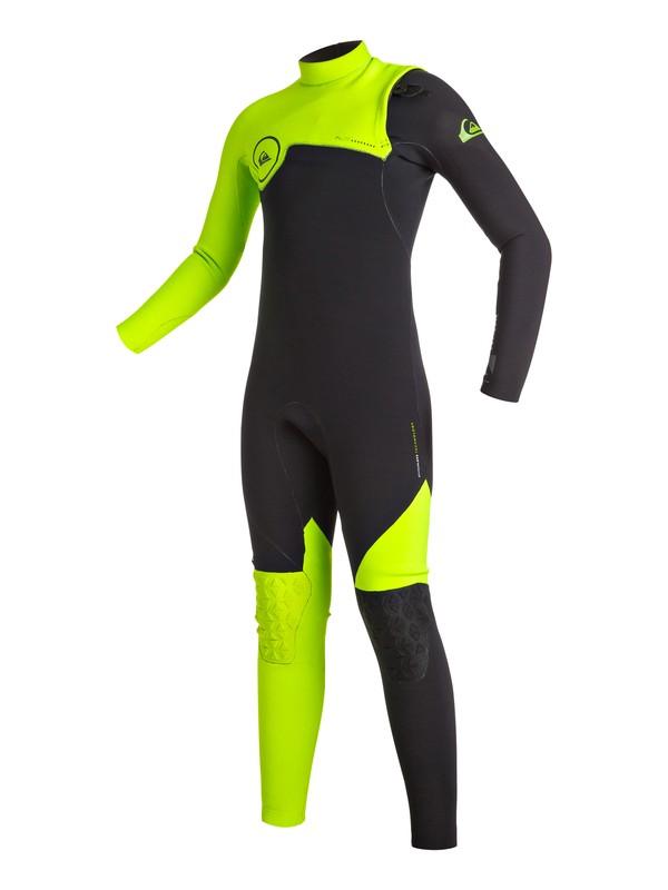 0 Highline Zipperless 4/3mm - Combinaison de surf intégrale sans zip Vert EQBW103002 Quiksilver