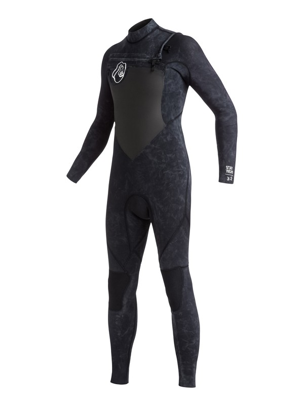 0 Boy's High Dye 3/2mm Chest Zip Full Wetsuit  EQBW103006 Quiksilver