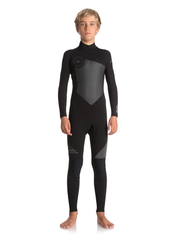 0 3/2mm Syncro Series - Back Zip GBS Wetsuit Black EQBW103023 Quiksilver