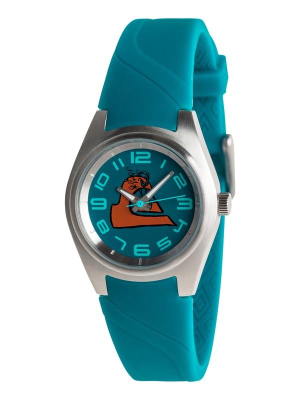 0 Kickstart - Analoge Uhr Blau EQBWA03000 Quiksilver