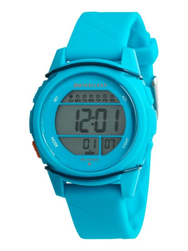 0 Stringer S - Montre digitale Bleu EQBWD03004 Quiksilver