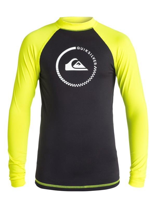 0 Lock Up - Surf tee Noir EQBWR03000 Quiksilver