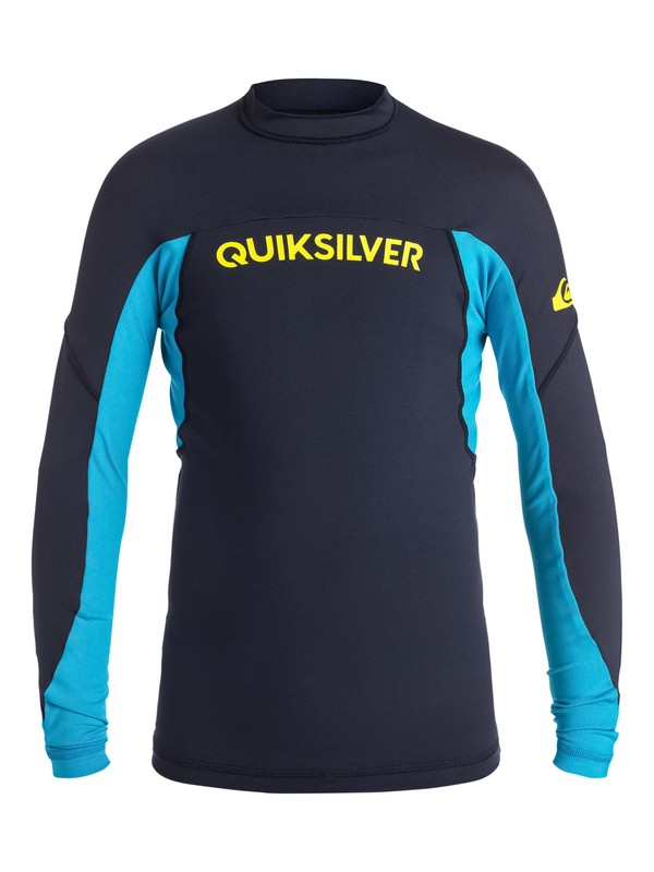 0 Boys 8-16 Performer Long Sleeve Rashguard  EQBWR03003 Quiksilver