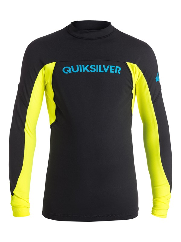 0 Performer - Surf tee Noir EQBWR03003 Quiksilver