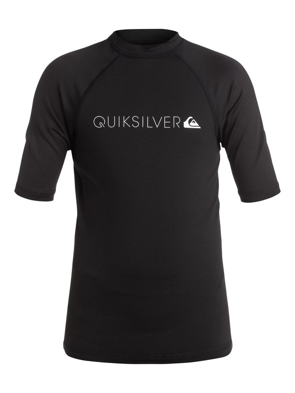 0 Heater - Surf tee Noir EQBWR03004 Quiksilver