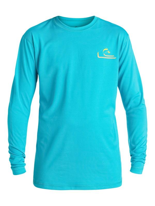 0 New Wave - Surf tee Bleu EQBWR03005 Quiksilver