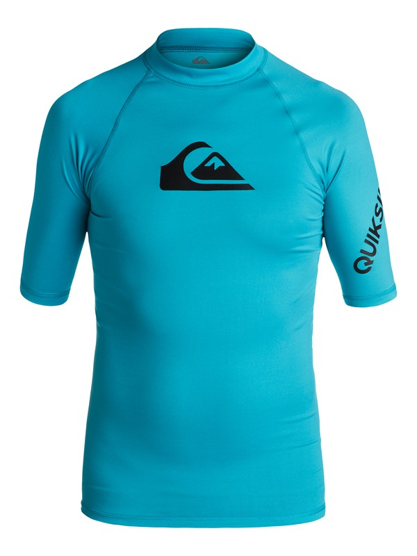 0 All Time - Surf tee Bleu EQBWR03006 Quiksilver