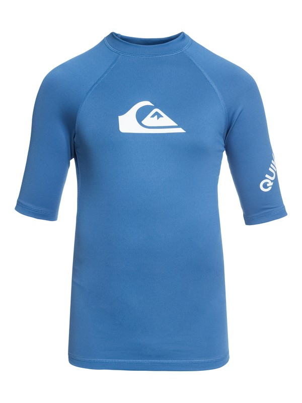 0 All Time - Lycra manches courtes UPF50 Bleu EQBWR03006 Quiksilver