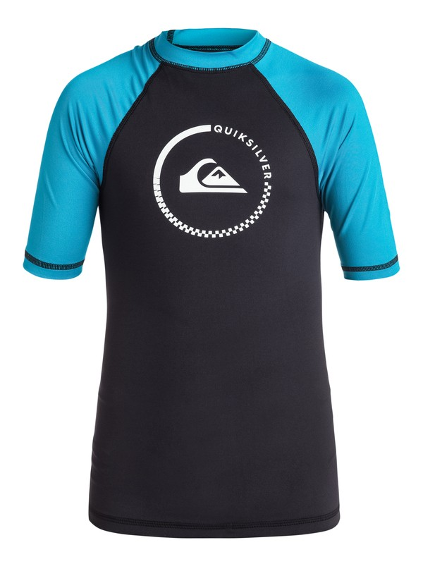 0 Boys 8-16 Lock Up Rashguard  EQBWR03010 Quiksilver