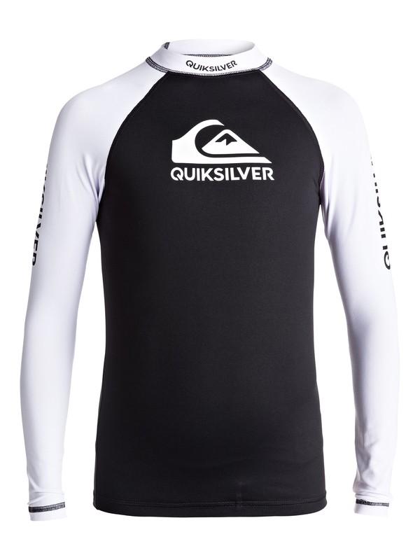 0 On Tours - Lycra manches longues UPF50 Noir EQBWR03040 Quiksilver