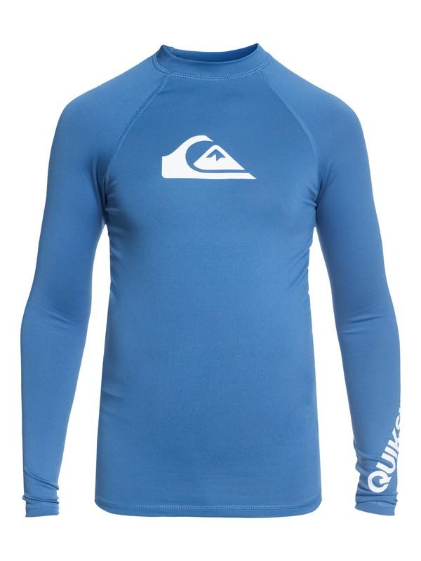 0 All Time - Lycra manches courtes UPF50 Bleu EQBWR03047 Quiksilver