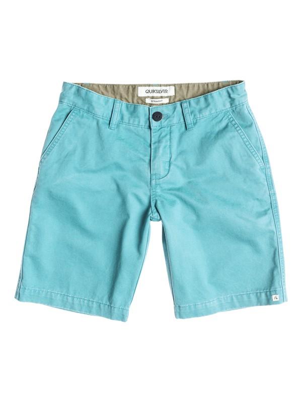 0 Everyday Chino Short Bleu EQBWS03006 Quiksilver