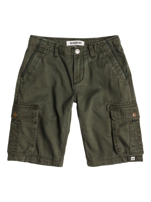 0 The Deluxe Short Aw Youth  EQBWS03008 Quiksilver