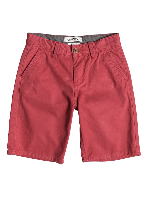 0 Everyday Chino - Short Rouge EQBWS03075 Quiksilver