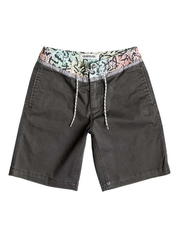 0 Street Trunk Yoke Cracked - Short  EQBWS03082 Quiksilver