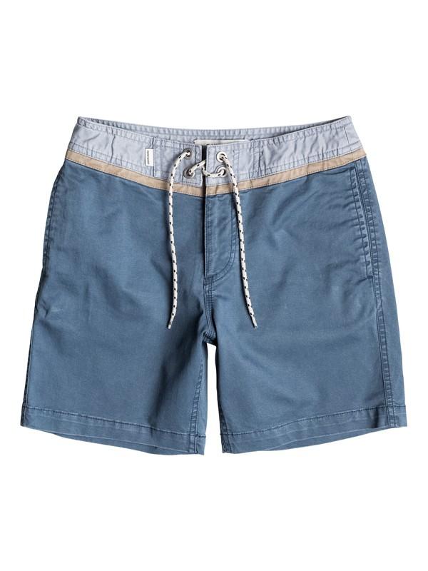 0 Street Trunk Yoke - Short Bleu EQBWS03084 Quiksilver