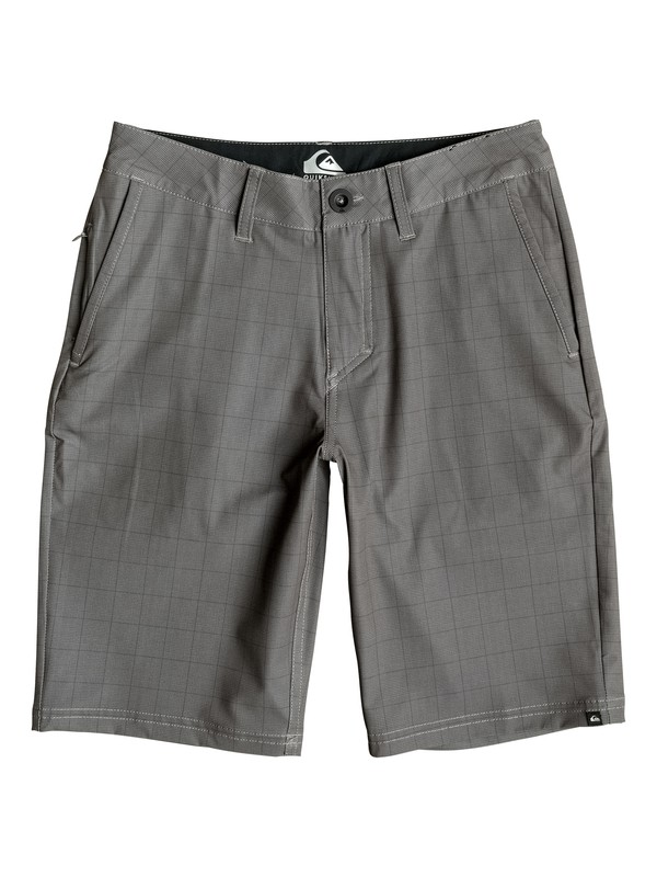 "0 Boy's 8-16 Neolithic 19"" Amphibian Shorts  EQBWS03130 Quiksilver"