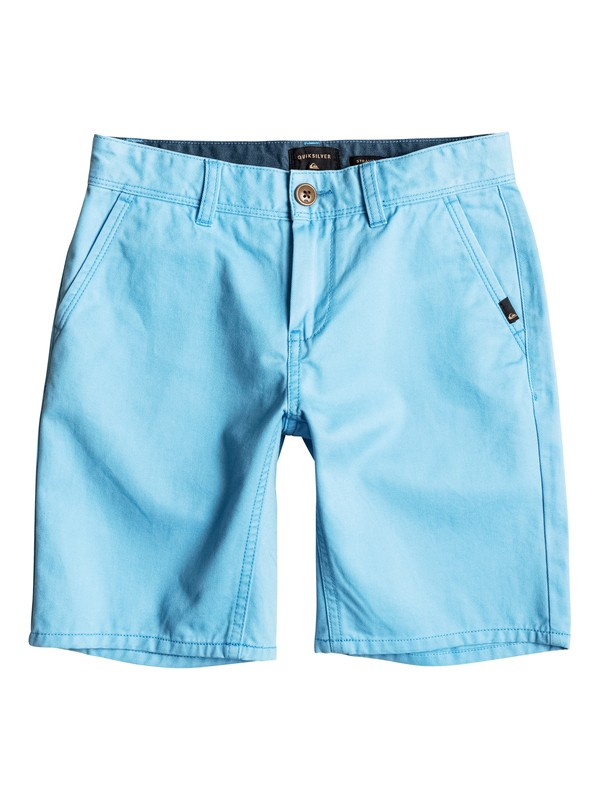 0 Everyday - Short en sergé Bleu EQBWS03156 Quiksilver