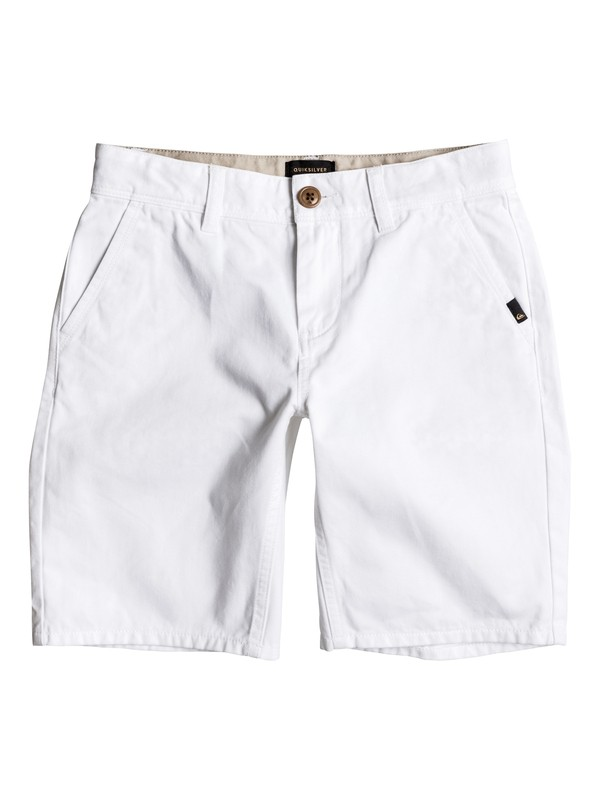 0 Everyday - Chino Shorts Weiss EQBWS03156 Quiksilver