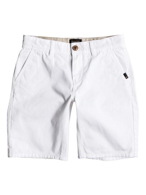 0 Everyday - Short en sergé Blanc EQBWS03156 Quiksilver