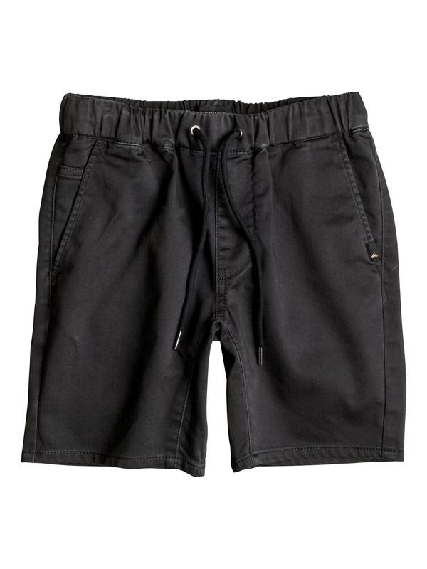 0 Fonic - Short en sergé Noir EQBWS03162 Quiksilver