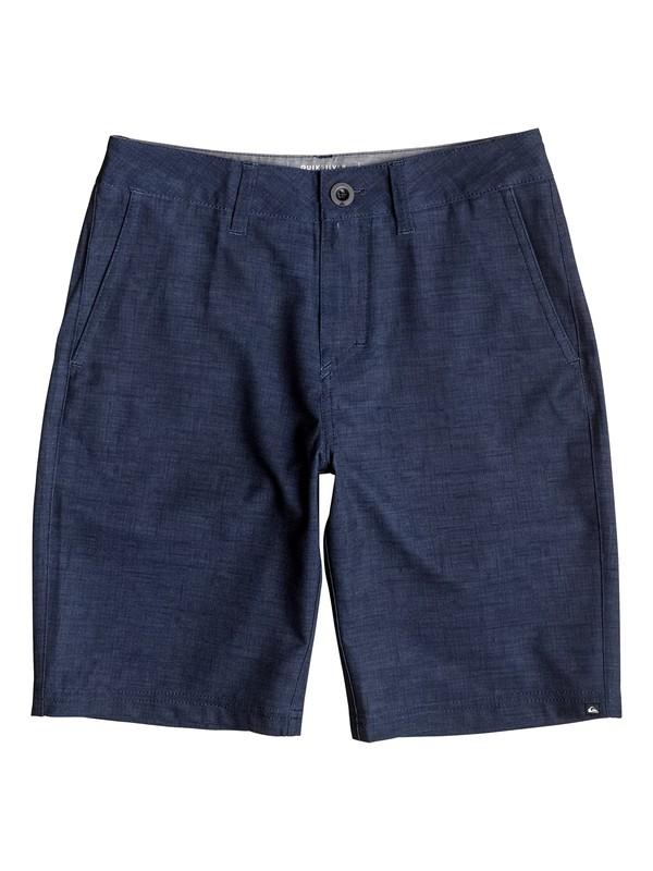 "0 Boy's 8-16 Platypus Amphibian 18"" Amphibian Shorts  EQBWS03175 Quiksilver"