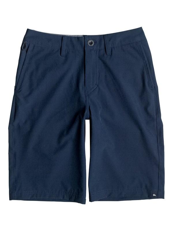 "0 Boy's 8-16 Solid Amphibian 19"" Amphibian Shorts  EQBWS03178 Quiksilver"