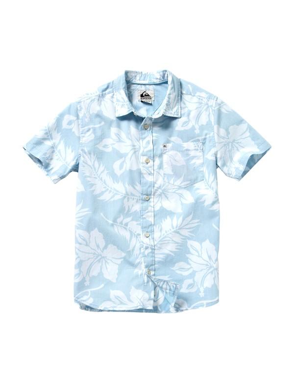 0 Boys 8-16 Kaihuna Short Sleeve Shirt  EQBWT00011 Quiksilver