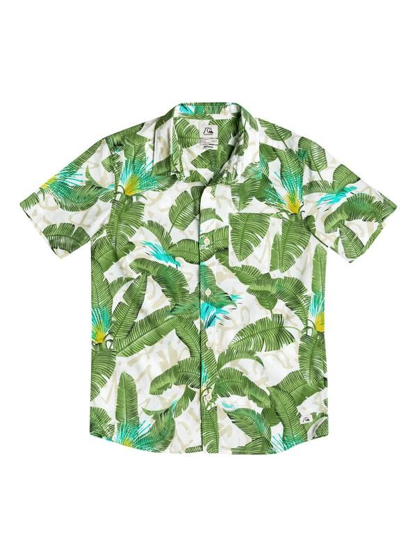 0 Riot Shirt - Chemise manches courtes Blanc EQBWT03086 Quiksilver