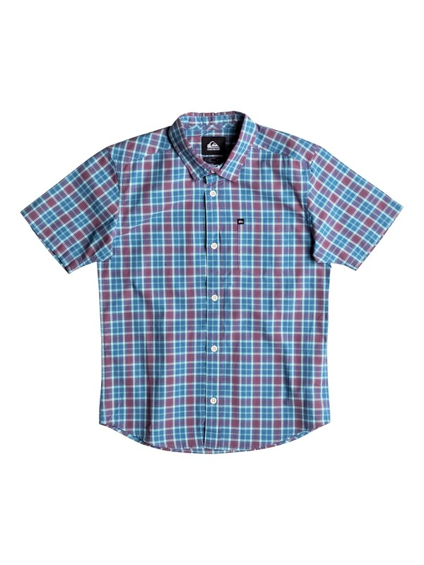 0 Everyday Check - Chemise manches courtes  EQBWT03089 Quiksilver