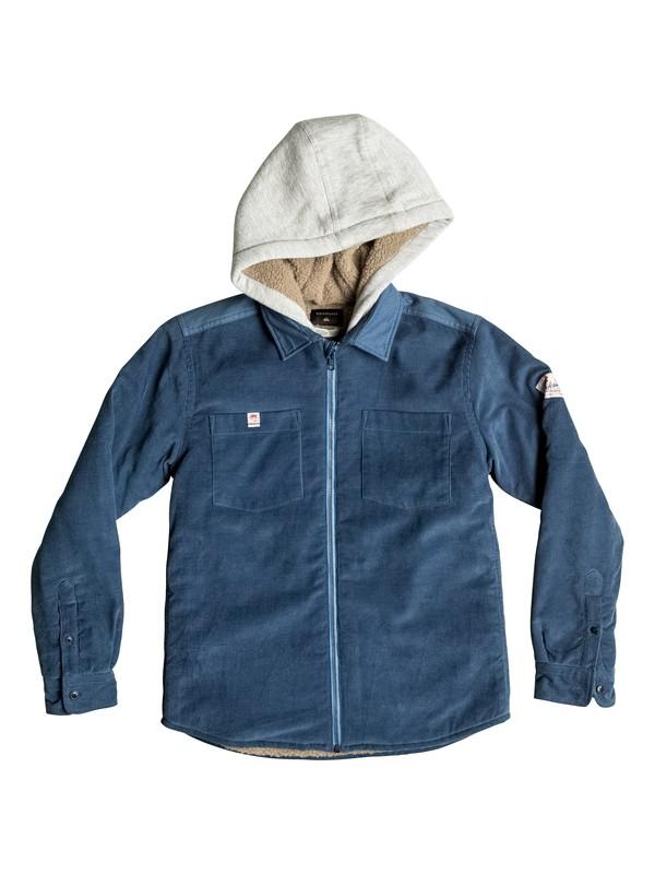 0 Fake Ethics - Veste chemise zippée Bleu EQBWT03102 Quiksilver