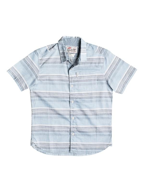 0 Boy's 8-16 The Aventail Short Sleeve Shirt  EQBWT03120 Quiksilver