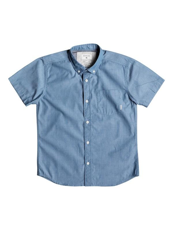 0 Boy's 8-16 Everyday Wilsden Short Sleeve Shirt  EQBWT03131 Quiksilver