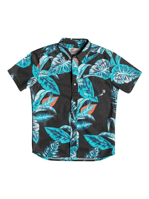 0 Boy's 8-16 Aloe Short Sleeve Shirt  EQBWT03135 Quiksilver