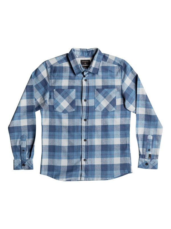 0 Boy's 8-16 Major Reform Long Sleeve Shirt  EQBWT03138 Quiksilver
