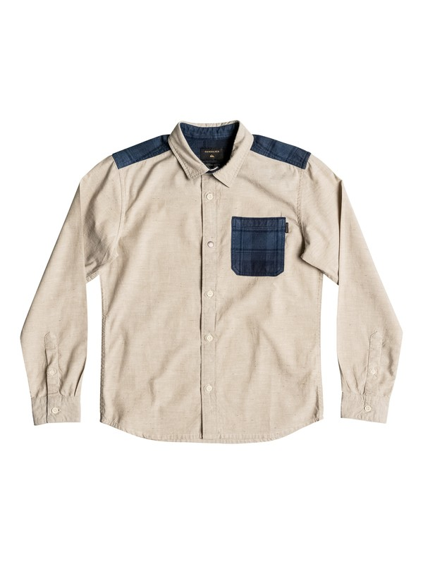 0 Turn It Up - Chemise à manches longues Beige EQBWT03143 Quiksilver