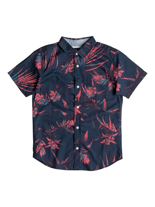 0 Boy's 8-16 Everyday Short Sleeve Shirt  EQBWT03153 Quiksilver