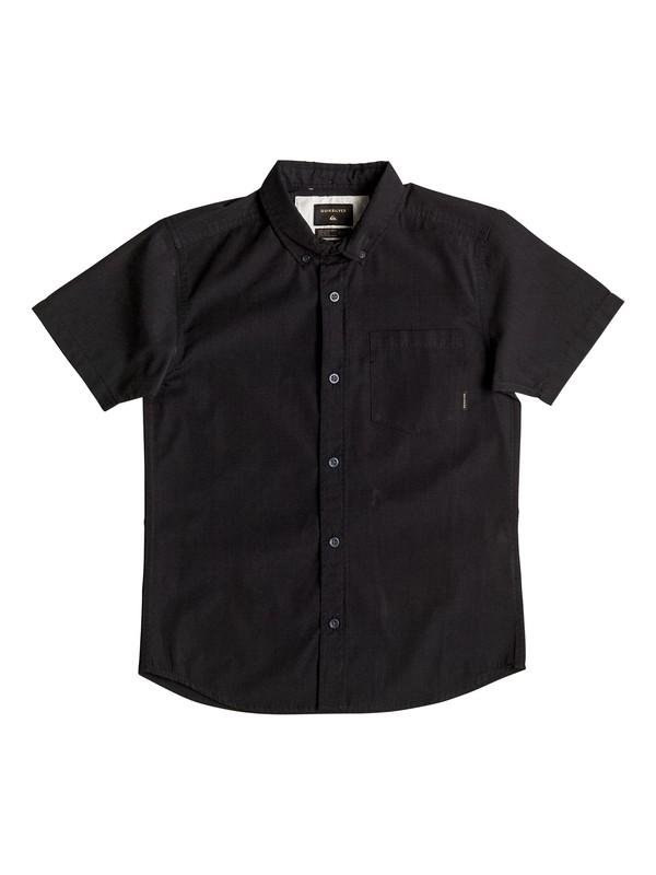 0 Boy's 8-16 Everyday Wilsden Short Sleeve Shirt  EQBWT03159 Quiksilver