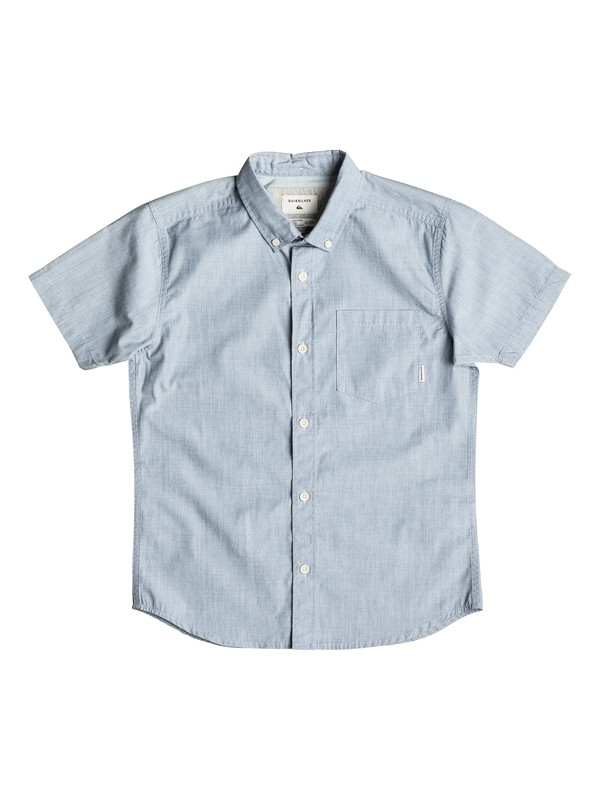 0 Boy's 8-16 Everyday Wilsden Short Sleeve Shirt  EQBWT03170 Quiksilver