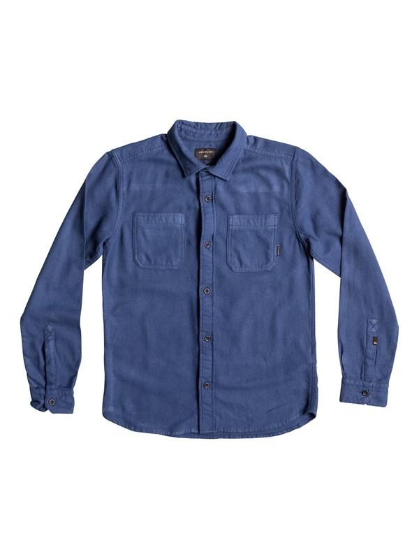0 Bomie - Chemise à manches longues Bleu EQBWT03179 Quiksilver