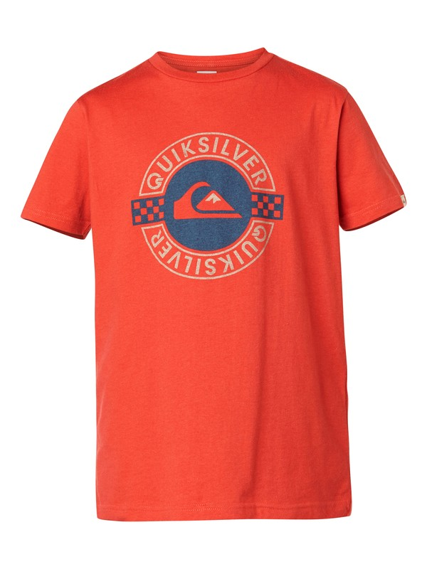 0 Ss Qs Tee Youth F12  EQBZT03013 Quiksilver