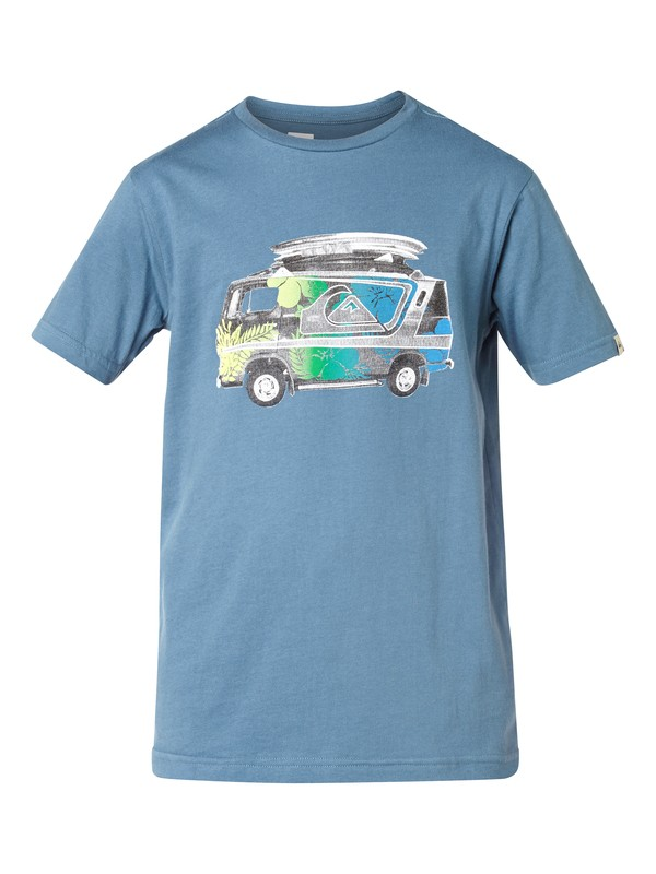 0 Ss Qs Tee Youth F24  EQBZT03048 Quiksilver