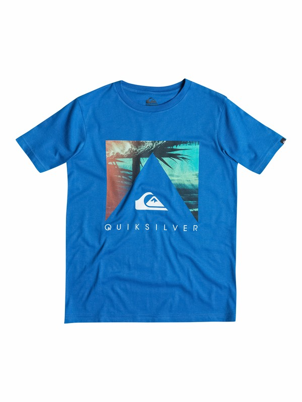 0 Classic Vanishing Point - T-shirt  EQBZT03138 Quiksilver