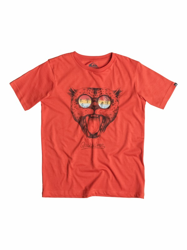 0 Classic Sunset Cat - T-shirt  EQBZT03148 Quiksilver