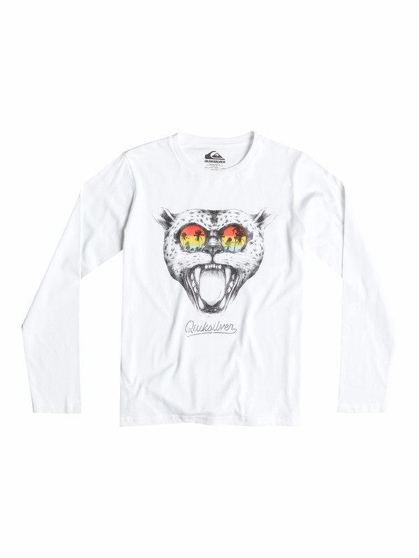 0 Classic Sunset Cat - T-shirt manches longues  EQBZT03150 Quiksilver