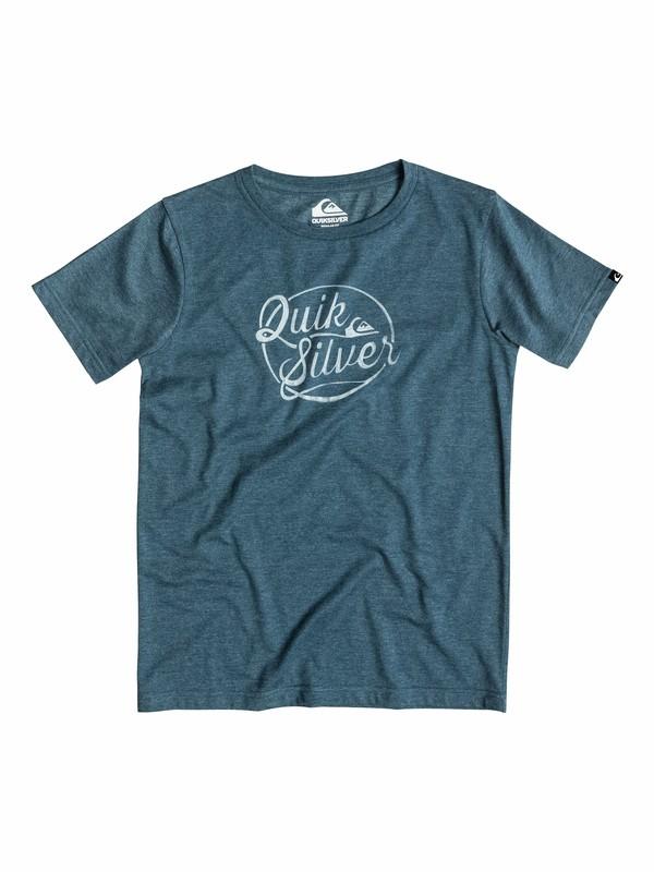0 Heather Go Team - T-shirt  EQBZT03157 Quiksilver
